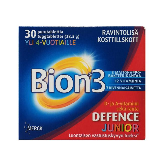 Витамины Bion 3 Juniors (Бион 3 Джуниор) - 30 таб.