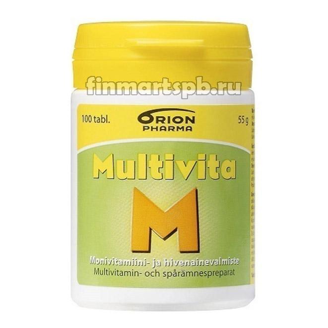 Поливитамины Multivita M (Мультивита М)