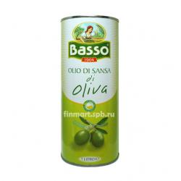 Оливковое масло Basso olio di sansa di oliva - 1 л.