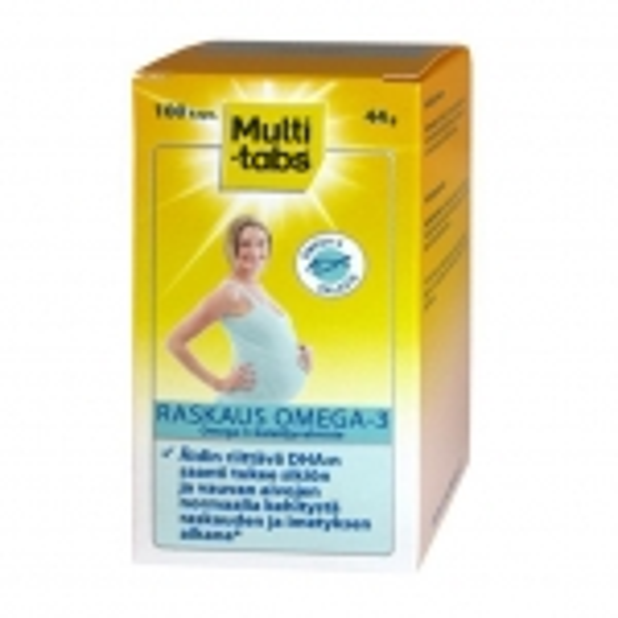 Витамины для беременных Multi-Tabs Raskaus Omega-3 - 100 таб.