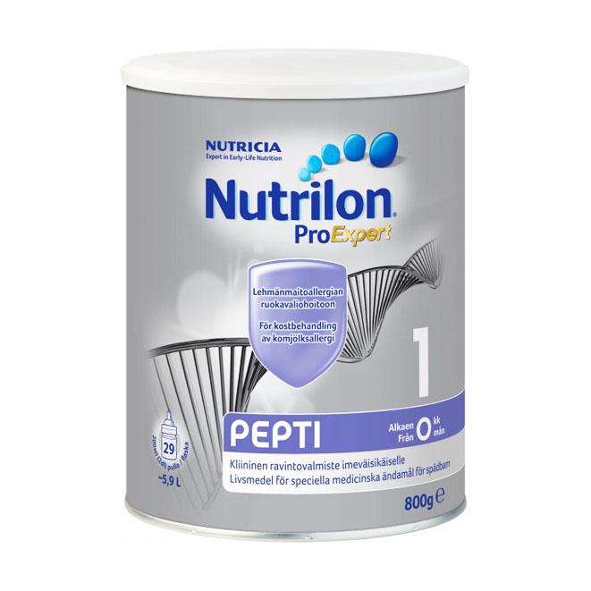 Детское питание Nutricia Nutrilon Pepti 1 - 800 гр.