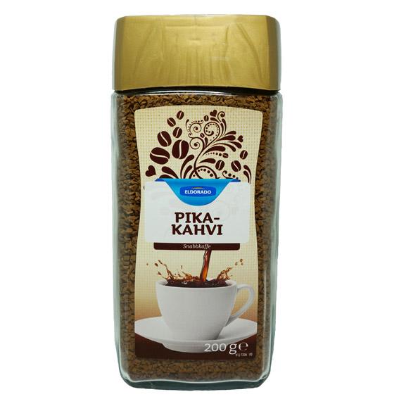 Растворимый кофе Eldorado PIKA-KAHVI (стеклянная банка) - 200 гр.