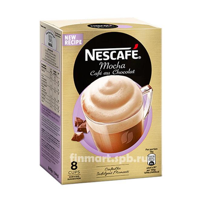Кофейный напиток Nescafe Mocha Cafe au Chokolat - 8 пак.