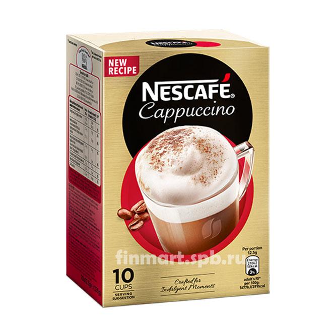 Кофейный напиток Nescafe Cappuchino - 10 пак.