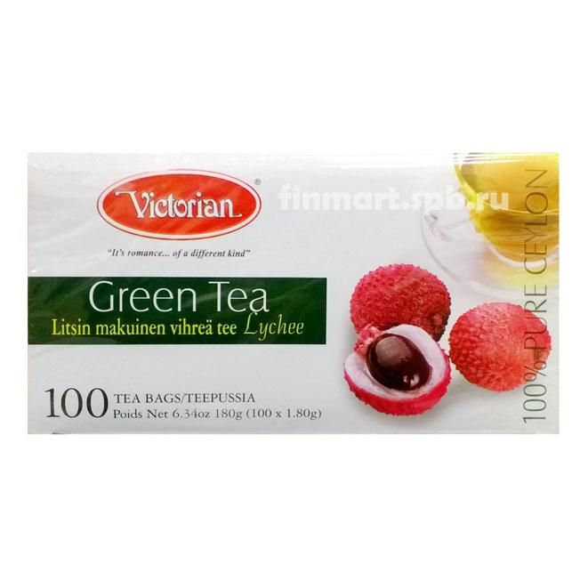 Зеленый чай с ягод Личи