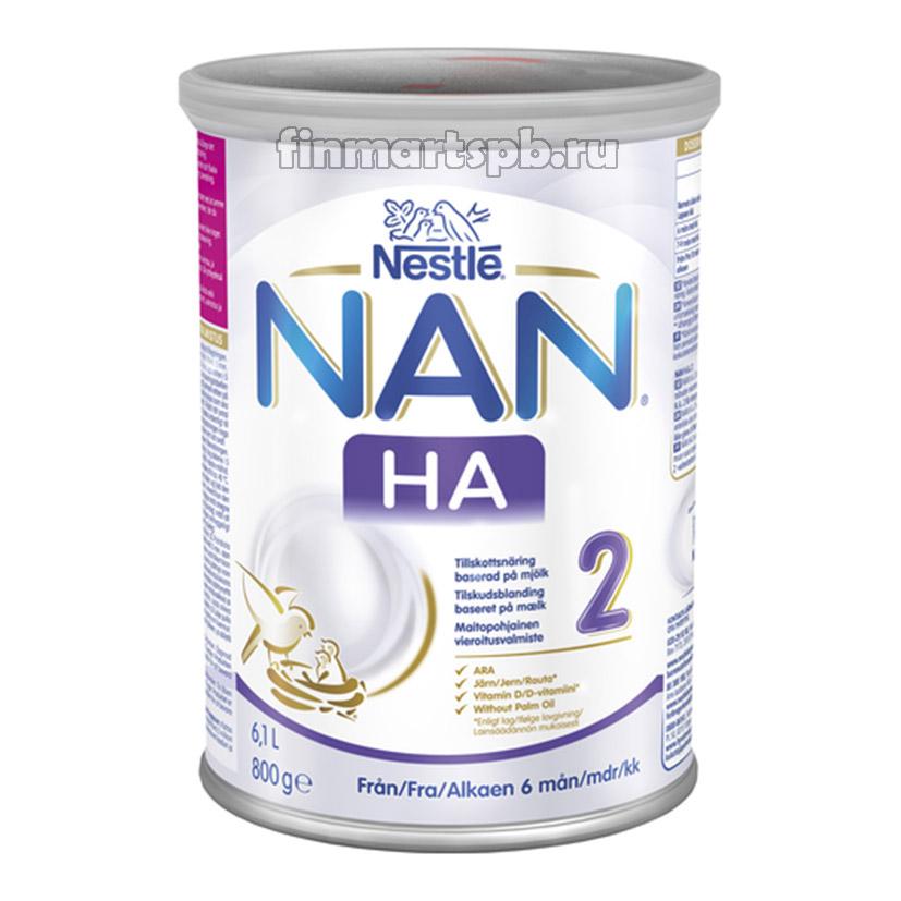 Сухая молочная смесь Nestle NAN 2 H.A. (НАН 2 гипоаллергенный)