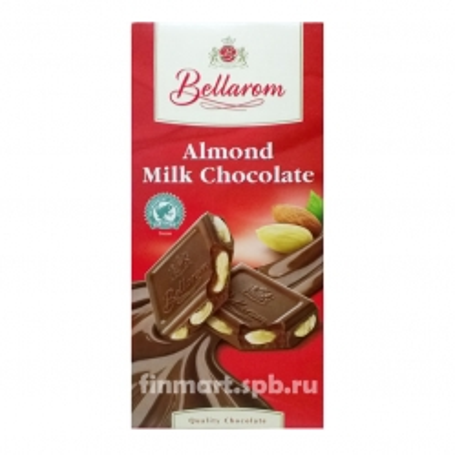 Шоколад Fin Carre Cream chocolate almond (Миндаль) - 200 гр.