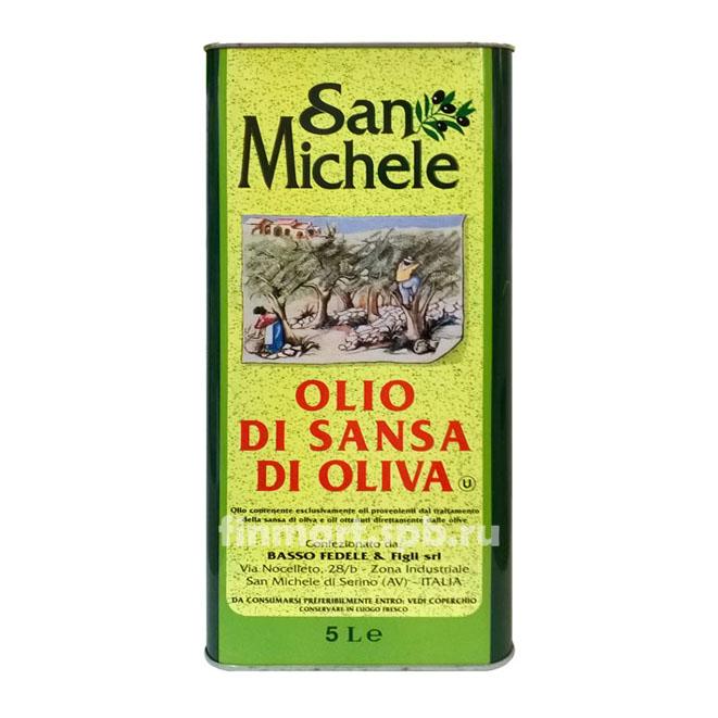 Оливковое масло San Michele Olio Di Sansa di Oliva