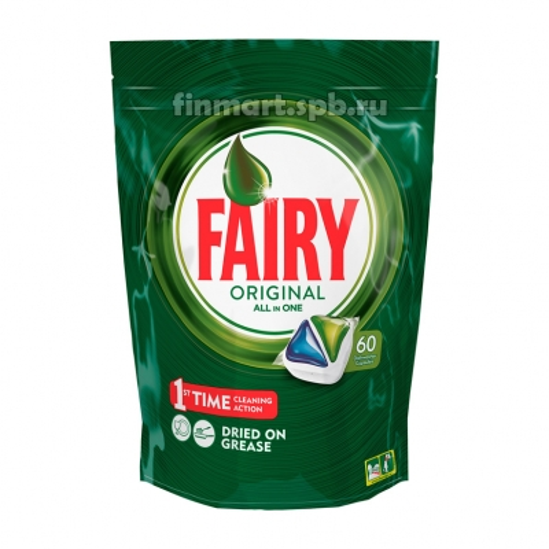 Таблетки для ПММ Fairy All in 1 Original - 60 шт.