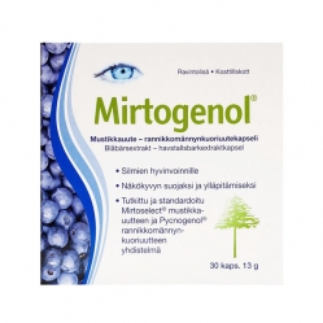 Mirtogenol (Миртогенол) - 30 капсул.