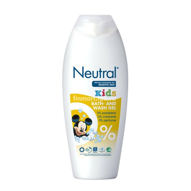 Гель для мытья Neutral Kids (Bath & Wash gel) - 200 мл.