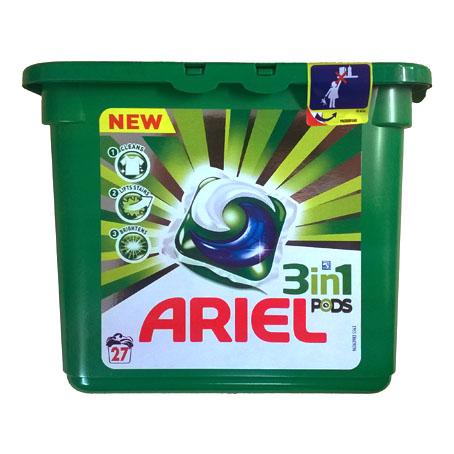 Капсулы для стирки Ariel Pods - 19 шт.