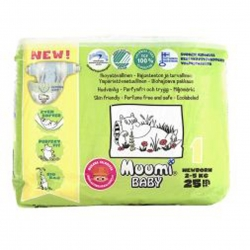 Подгузники Muumi Baby New Born (2-5 кг) - 25 шт