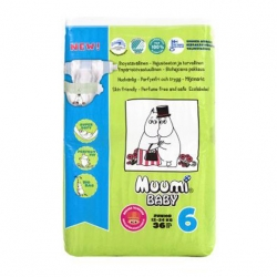 Подгузники Muumi Baby Junior №6 (12-24 кг) - 36 шт.