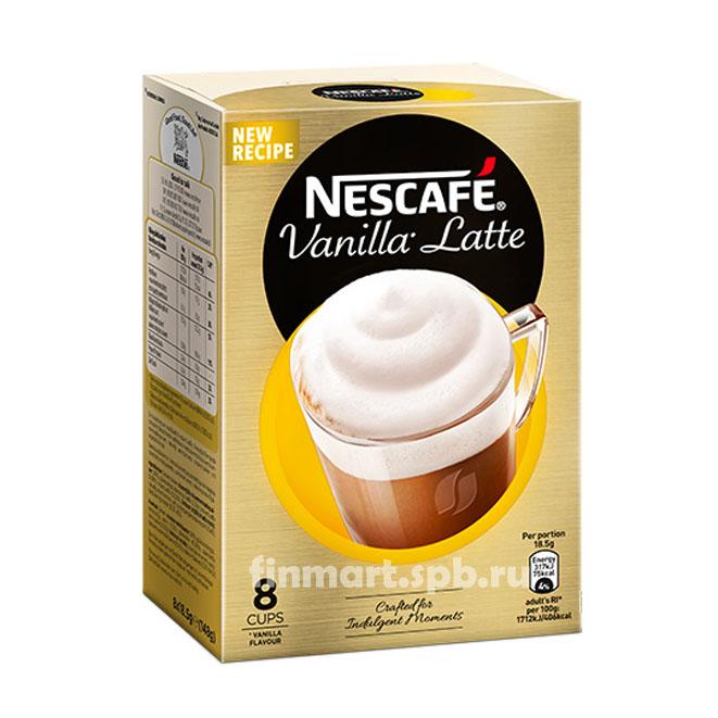Кофейный напиток Nescafe Vanilla Latte - 8 пак.