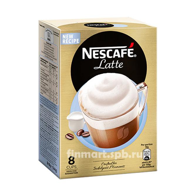 Кофейный напиток Nescafe Latte - 8 пак.