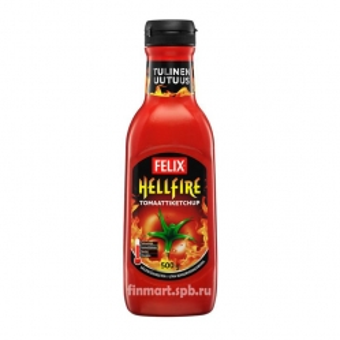 Кетчуп Felix Hellfire (Огненный)  - 500 гр.
