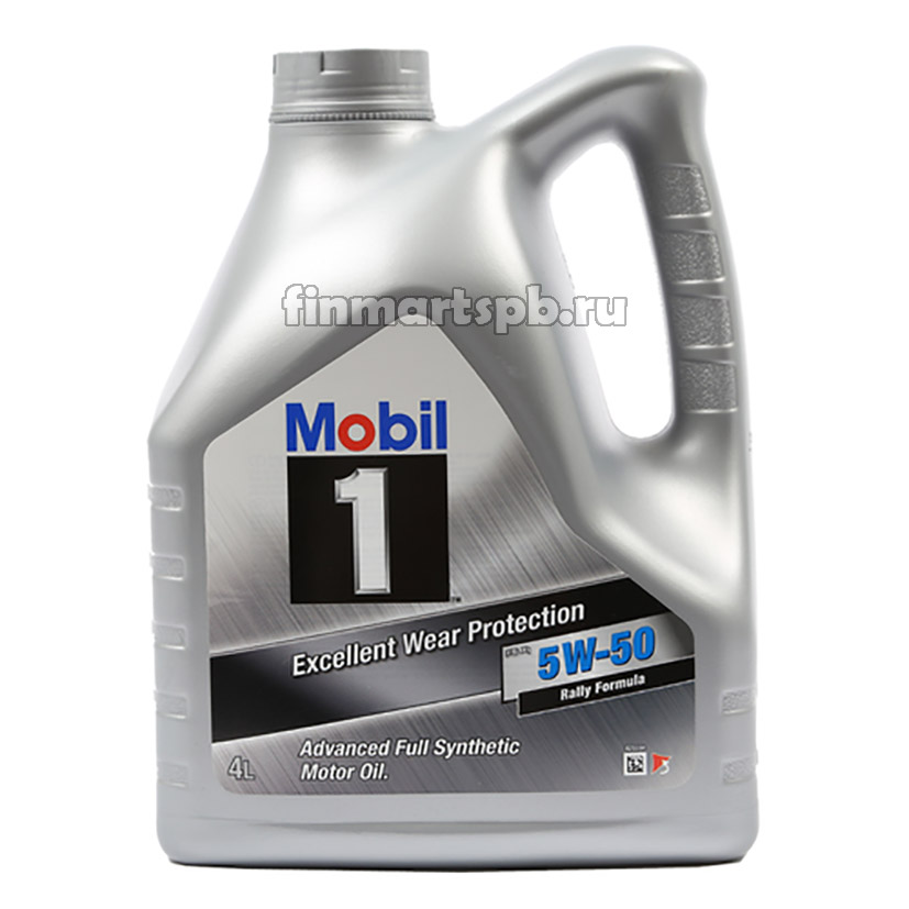 Моторное масло Mobil1 Excellent wear protection 5w-50 - 4 л.