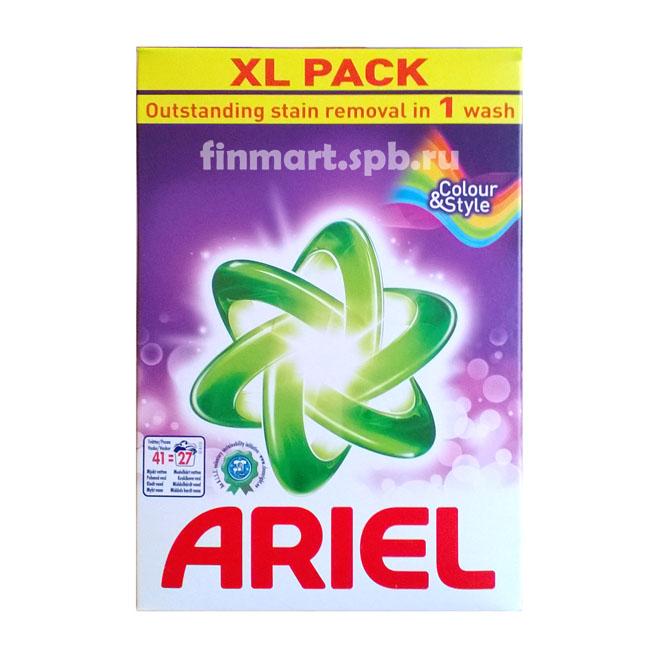 Стиральный порошёк Ariel Color&Style - 1,13 кг.