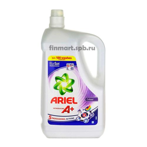 Гель для стирки Ariel A+ Colour (5 professional action) - 5 л.