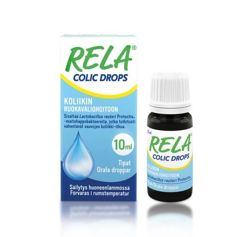 Капли Rela Colic Drops (Рела колик дропс) - 10 мл.