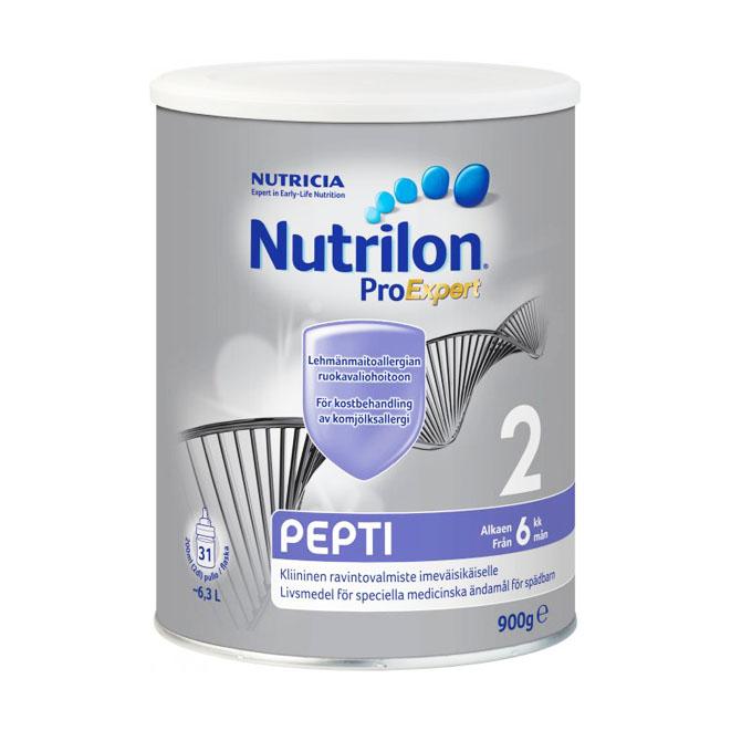 Детское питание Nutricia Nutrilon Pepti 2 - 900 гр.