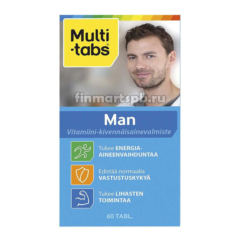 Финские витамины для мужчин Мультитабс мен