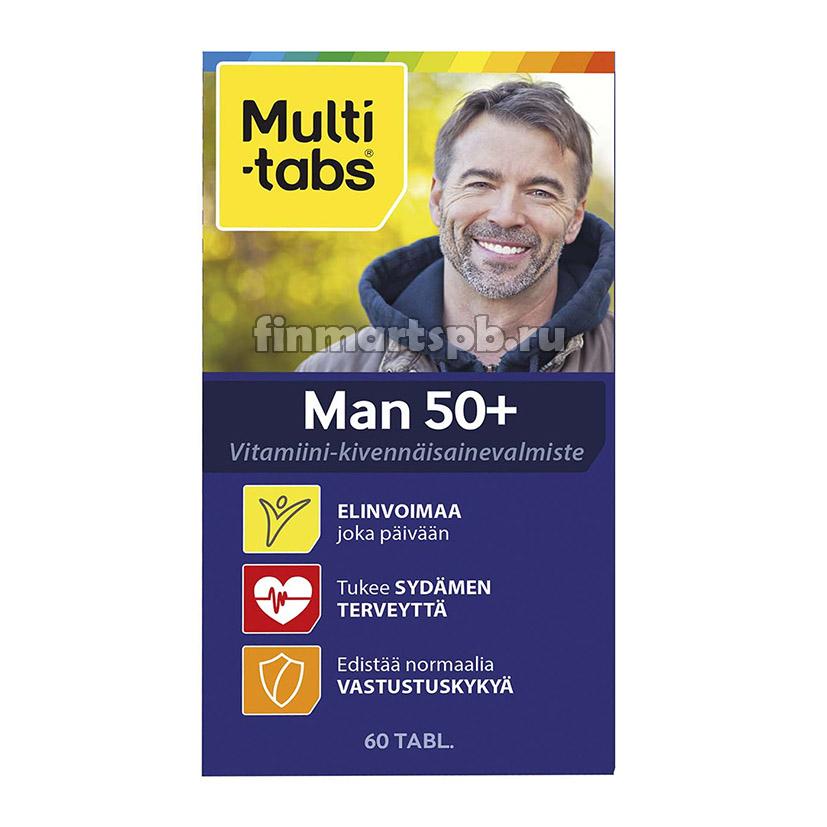 Комплекс витаминов для мужчин Multi-Tabs Man 50+
