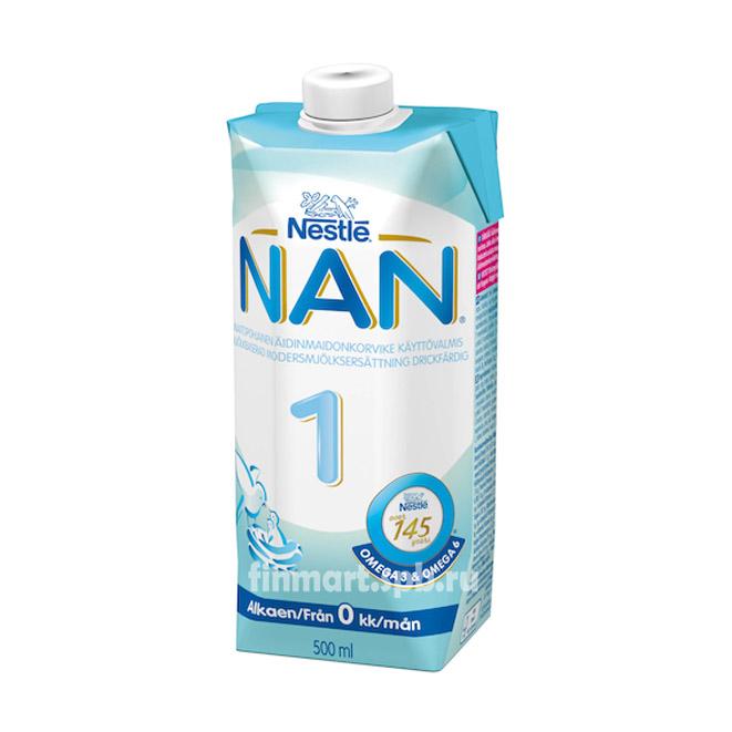 Детское питание Nestle NAN 1 (готовая смесь) - 500 мл.