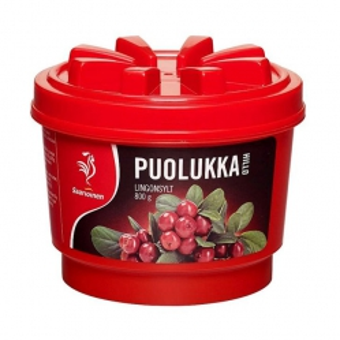 Варенье Брусничное Saarioinen Puolukka - 800 гр.