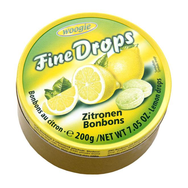 Woogie Fine Drops (лимон) - 200 гр.