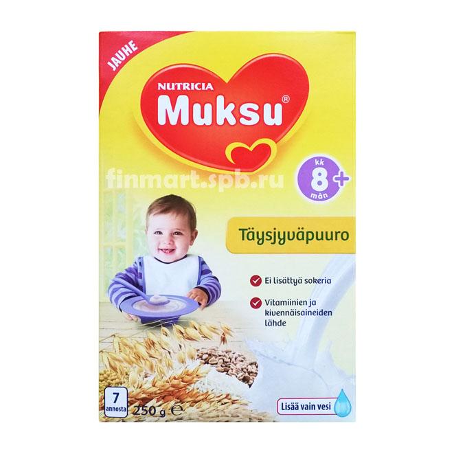 Каша Nutricia Muksu (Цельнозерновая) - 250 гр.
