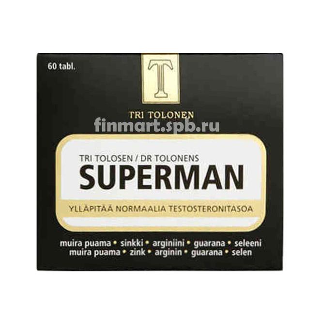 Комплекс витаминов Tri Tolonen Superman - 60 шт.