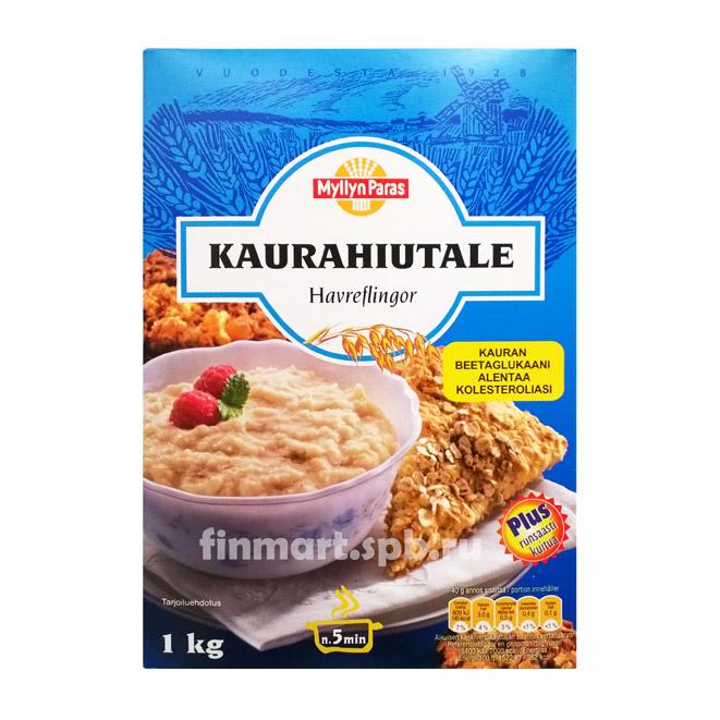 Каша Myllyn Paras Kaurahiutale (Овсяные хлопья) - 1 кг.