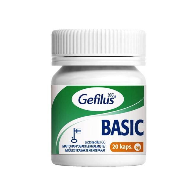 Кисломолочные бактерии Gefilus LGG Basic - 20 шт.