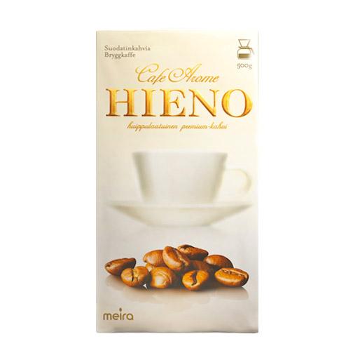 Кофе молотый Hieno Cafe Aroma (белая пачка) - 500 гр.