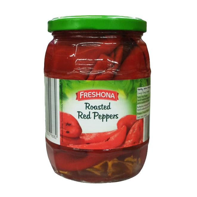 Жареный красный перец Freshona  - 400 гр.