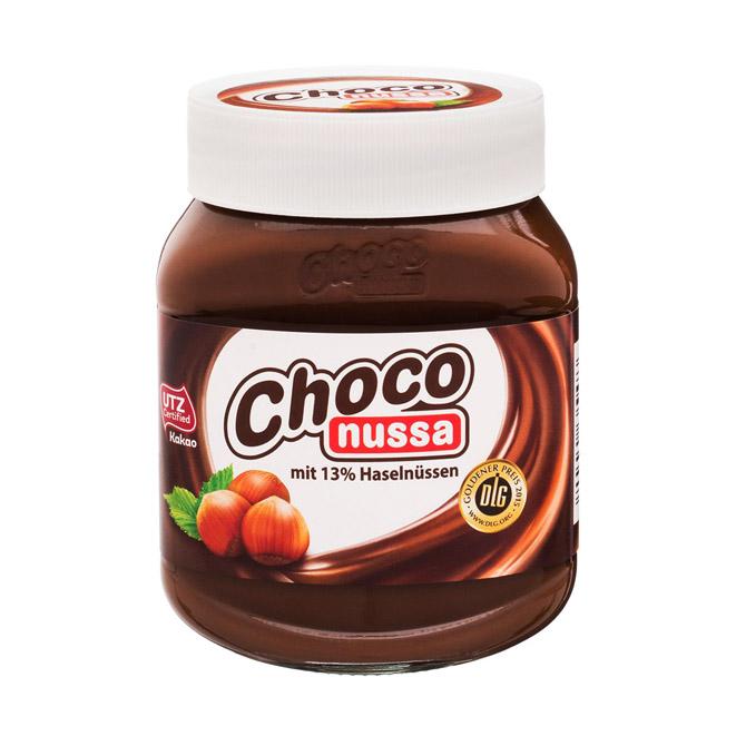 Шоколадно-ореховая паста Choco nussa - 400 г.