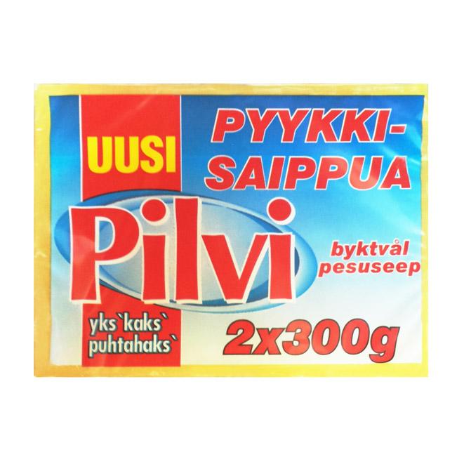 Хозяйственное мыло Pilvi - 2x300 гр.