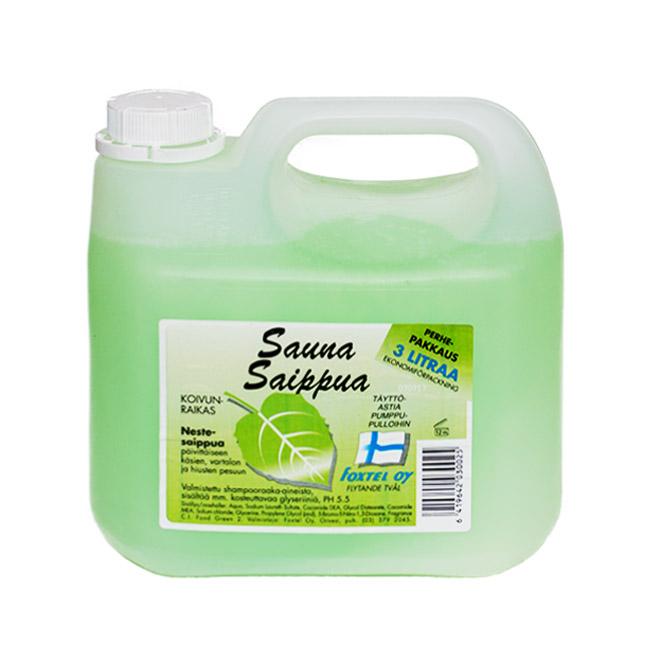 Жидкое мыло Foxtel (аромат сауны) - 3 л.