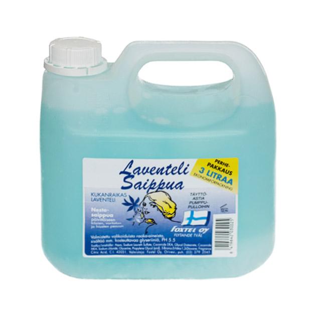 Жидкое мыло Foxtel (аромат лаванды) - 3 л.