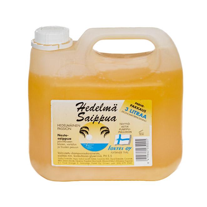 Жидкое мыло Foxtel Hedelma Saippua (фруктовый аромат) - 3 л.