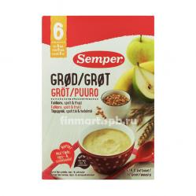 Каша Овсяная Semper (груша, банан) - 250 гр.