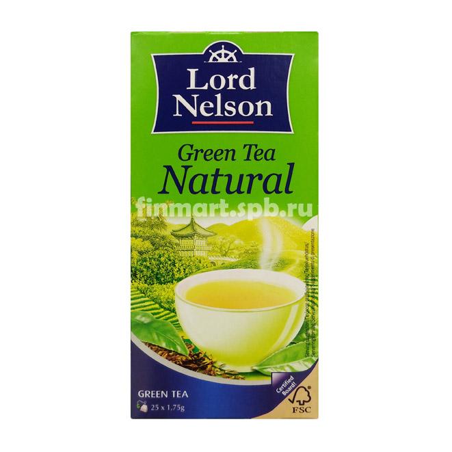 Зелёный чай Lord Nelson Natural - 25 пак.