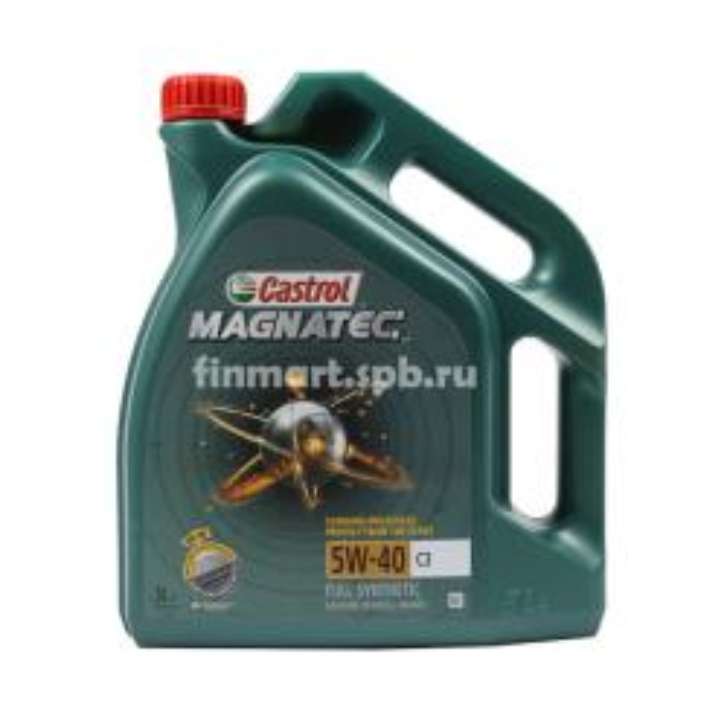 Моторное масло Castrol Magnatec 5w-40 C3 - 5 л.