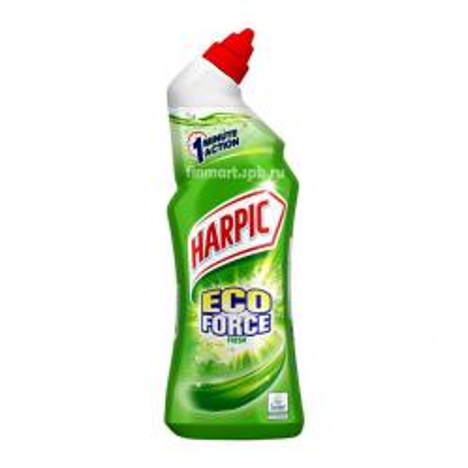 Средство для чистки туалета Harpic Eco Force - 750 мл.