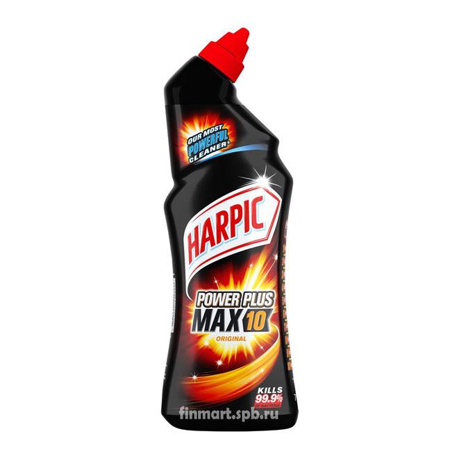 Средство для чистки туалета Harpic Power Plus Max 10 - 750 мл.