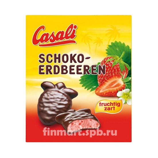 Casali shoko-erdbeeren - 150 гр.