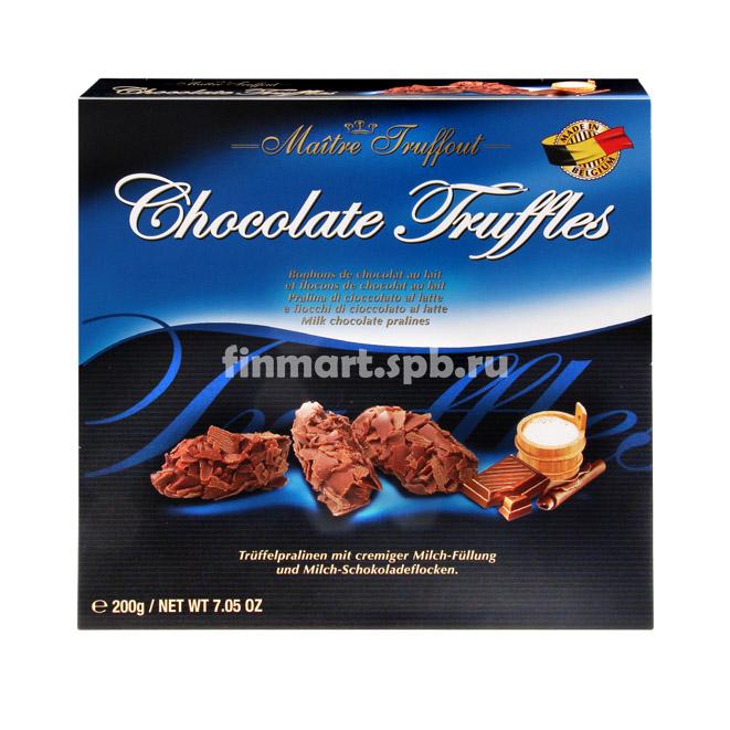 Шоколадные трюфели Maitre Truffout - 200 гр.