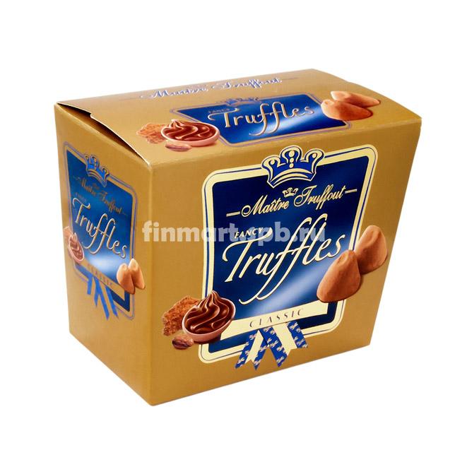Шоколадные трюфели Maitre Truffout Classic - 200 гр.